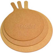 "Allied Metal Spinning SB-1621 - Pizza Serving Boards, 16"" Diameter, 5"" Handle, Wood Fiber Laminate"