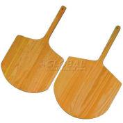 "Allied Metal Spinning SP-1424 - Pizza Peel Board, 14"" x 24"", 9"" Handle, Short, Wood Fiber Laminate"