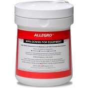 Allegro 5001 Wipe Downs for Equipment - Pop Up Canister, 220/Ct.