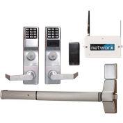 Networx ETPDNS1G/26DV99 Access Control Networx Wireless Digital/Proximity Exit Device Trim, 5000 Com