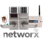 Networx PDL6500CRL/26D Access Control Networx Digital/Proximity Lock, 5000 Combination, Wirelessly P