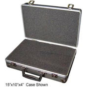 Aluminum Case 188-2 Aluminum Carry Case With Foam Insert - 18 x 13 x 8
