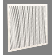 """American Louver Stratus 1/2"""" Perforated Plastic Panel, Ceiling T-Grid, PK5"""