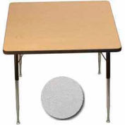 "Activity Table, 36"" X 36"", Square, Standard Adj. Height, Gray Nebula - Pkg Qty 2"