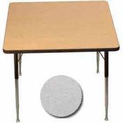 "Activity Table, 36"" X 36"", Square, ADA Compliant Adj. Height, Gray Nebula - Pkg Qty 2"