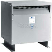 Acme DTGB0344S Drive Isolation Transformer, 3 PH, 60 Hz, 460 Delta Primary V, 34 W, Floor Mount