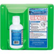 PhysiciansCare® Wall Mount Eye Flush Station, Single, 16 Oz. Bottle, 24-000