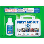 Physicians Care Eye Flush Solution with First Aid Kit, 24-500