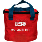 Pac-Kit First Aid Kit, Soft Pouch, 50 Person ANSI Compliant, 7088
