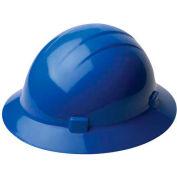 ERB™ 20006, Americana 360 Hard Hat, 4-Point Ratchet Suspension Blue