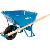 6 Cubic Foot Jackson® Steel Contractor Wheelbarrow