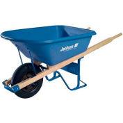 Jackson MP575T22BB 5.75 Cubic Foot Poly Contractor Wheelbarrow