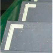 Photoluminescent Flexible Vinyl 'Left' L-Shaped Step Marker