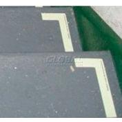 Photoluminescent Aluminum 'Right' L-Shaped Step Marker