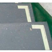 Photoluminescent Flexible Vinyl 'Right' L-Shaped Step Marker