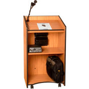 Presidential Plus Sound Lectern - Medium Oak