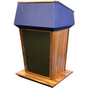Non-Sound Patriot Plus Lectern-Walnut