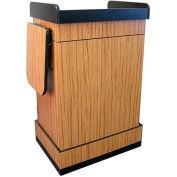 Multimedia Computer Podium / Lectern without Sound - Oak
