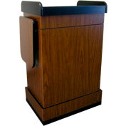 Multimedia Computer Podium / Lectern without Sound - Walnut
