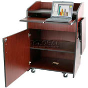 Non Sound Multimedia Presentation Plus Podium - Mahogany