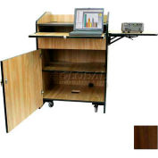 Non Sound Multimedia Presentation Plus Podium - Walnut