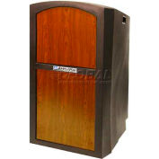 Pinnacle Full Height Lectern - Non Sound Medium Oak