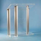 Contemporary Acrylic And Aluminum Podium / Lectern