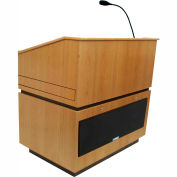 Coventry Sound Lectern - Natural Oak