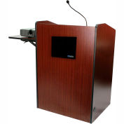 Multimedia Presentation Plus Podium With Sound - Mahogany