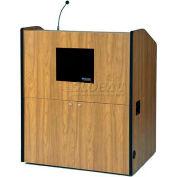 Multimedia Smart Podium - Medium Oak