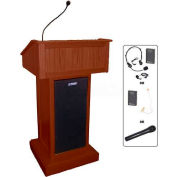 Victoria UHF Wireless Podium / Lectern - Mahogany