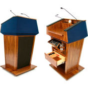 Wireless Patriot Lectern - Walnut
