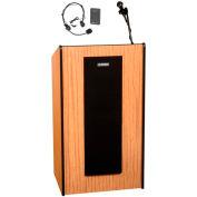Wireless Presidential Plus Sound Lectern - Medium Oak