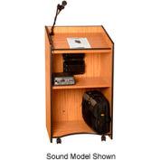 Presidential Plus Non-sound Lectern - Medium Oak