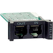 APC Surge Module for Analog Phone Line,1U, for PRM4 or PRM24 Rackmount Chassis