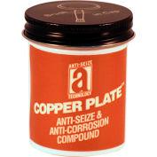 COPPER PLATE™ Anti-Seize W/O Graphite, Aluminum 1800°F, 2oz. Brush Top 48/Case - 21002 - Pkg Qty 48