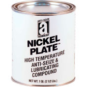NICKEL PLATE™ Anti-Seize w/Graphite, 2600°F, 2 Lb. Can 12/Case - 35025 - Pkg Qty 12