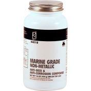 MARINE GRADE™ Non-Metallic Anti-Seize, 1 Lb. Brush Top 12/Case - 44018 - Pkg Qty 12