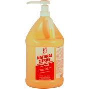 NATURAL CITRUS™ w/Pumice, Gallon Pump Bottle 4/Case - 49230 - Pkg Qty 4