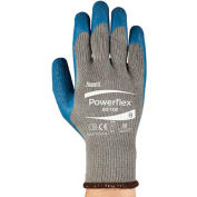 Powerflex® Latex Coated Gloves, Ansell 80-100-9, 1-Pair - Pkg Qty 12