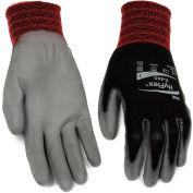 HyFlex® Lite Polyurehtane Coated Gloves, Ansell 11-600, Size 9, Black/Gray, 1 Pair - Pkg Qty 12