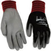 HyFlex® Lite Gloves, Ansell 11-600, Black Foamed PU Palm Coat, Size 10, 1 Pair - Pkg Qty 12