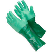 "Scorpio® Chemical Resistant Gloves, Ansell 8-354, 14""L, Gauntlet Cuff, Size 9, 1 Pair"