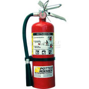 Portable Fire Extinguisher, 10 Lbs., 15'-21' Range