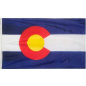 4X6 Ft. 100% Nylon Colorado State Flag