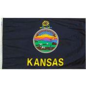 4X6 Ft. 100% Nylon Kansas State Flag