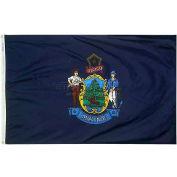 4X6 Ft. 100% Nylon Maine State Flag