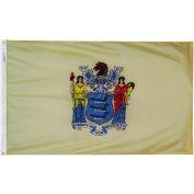 3X5 Ft. 100% Nylon New Jersey State Flag