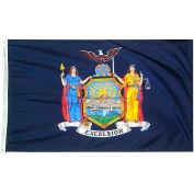 3X5 Ft. 100% Nylon New York State Flag