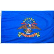 4X6 Ft. 100% Nylon North Dakota State Flag